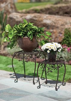 1000 images about para el jard n on pinterest products - Pedestal para plantas ...