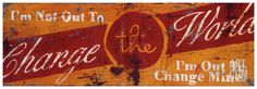 Change The World Giclee Print by Rodney White at Art.com