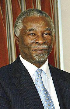 Thabo Mvuyelwa Mbeki (født juni var fra 1999 - 2008 præsident for Republikken Sydafrika.