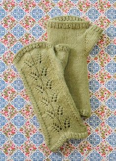 Blue Sky Alpacas Royal Petites Countess Mitts PATTERN ONLY
