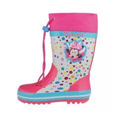 Γαλότσες παιδικές MINNIE MOUSE Rubber Rain Boots, Winter, Shoes, Disney, Fashion, Moda, Zapatos, Shoes Outlet, Fashion Styles
