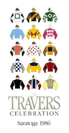 The Travers 1986 Silks Poster By Greg Montgomery