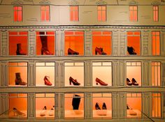orange at le bon marche...  http://vickiarcher.com/2012/09/fashion-putting-it-together-and-the-edit/