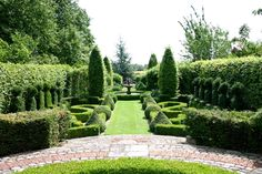 Kathy Brown - New French Garden, The Manor House Stevington, Bedfordshire