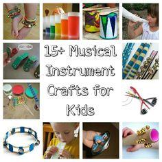 Kid craft Musical instrument crafts