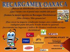 ¡Vende Recargas Electrónicas! - http://negociosoaxaca.com/anuncio/vende-recargas-electronicas/