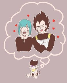Vegeta, Bulma, and baby Trunks                                                                                                                                                                                 More