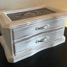 A personal favorite from my Etsy shop https://www.etsy.com/listing/596181535/vintage-jewelry-box-jewelry-storage-ring