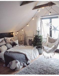 Bedroom goals, winter inspiration