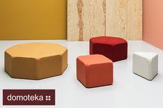 W taką niepogodę mamy dla Was odrobinę ciepła i przypominamy wyjątkową letnią nowość - kolekcję puf x40 autorstwa Piotra Kuchcińskiego. Siedziska bazują na planie trójkąta, kwadratu, sześciokąta i ośmiokąta. Mają identyczne boki, więc można je do woli ze sobą zestawiać.  Jeśli Wam się podobają, to zapraszamy do salonu Meble NOTI.