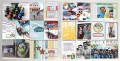 Pocket page (PROJECT LIFE style) created by design team member Nancy Damiano with our This Life Noted kit