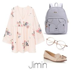 """Studying with Jimin"" by infires-jhope on Polyvore featuring Miss Selfridge and MANGO"