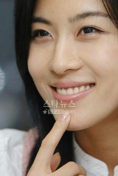 Ha Ji Won Senyuman