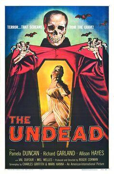 affiche vintage film horreur 1950 01 Affiches de films dhorreur des années 50