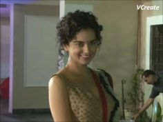 Kangana Ranaut looking beautiful at Sanjay Dutt's Mata Ki Chowki.