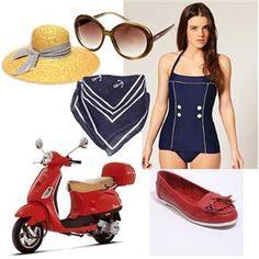 #ridecolorfully a vespa uniform