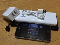 Anker Astro E5 16,000mAh  Anker 20W 2ポート USB急速充電器が届く  2015/06/18 Ooe-office,atelier