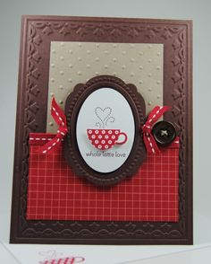 PATTERNED OCCASIONS CARD: - Stampin' Connection