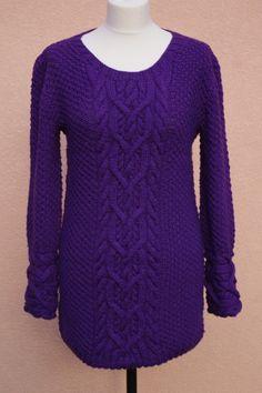 Pullover & Pullunder - Sweter Śliwka - ein Designerstück von Lawendowy-Rower bei DaWanda