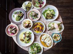 First it was Jewish cooking and now Israeli cuisine is coming in vogue in a big way! Check out the best spots to get in on this hot, new trend right this way. Israeli Food, Fresh Rolls, Food Styling, Good Food, Menu, Nyc, Restaurant, Dining, Cooking