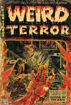 Comic Book Cover For Weird Terror #7