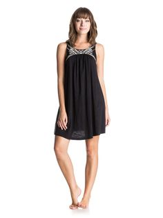 Roxy Juniors Shining Sea Tank Dress