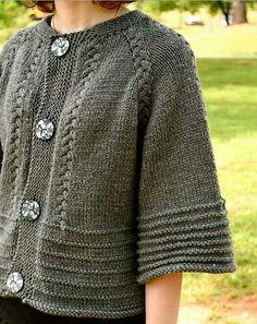 Scarlett ' s cardi stricken Muster von annie riley Strickmuster loveknitting. Knitting Designs, Knitting Projects, Free Knitting, Baby Knitting, Knitting Sweaters, Knitting Patterns, Crochet Patterns, Knitting Ideas, Grey Gloves