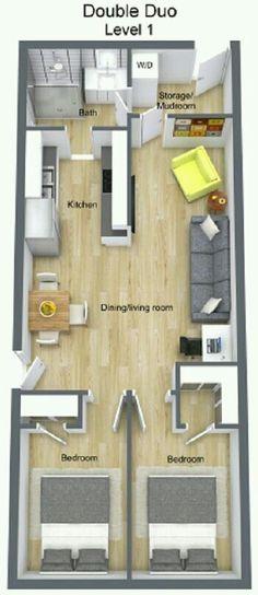 14 best Floor Plans images on Pinterest Sims house, Tiny house - plan maison sketchup gratuit