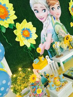 Frozen Fever Party | CatchMyParty.com