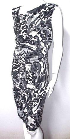 Spirited Randolph Duke dress 2X Modern trendy Animal prints leopard print NWOT #SpiritedRandolphDuke #Stretch #CasualVersatile