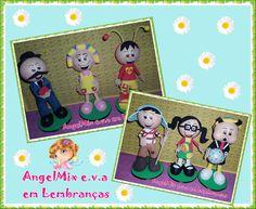 Mini Curso virtual  Chaves (6 personagens) R$ 80,00