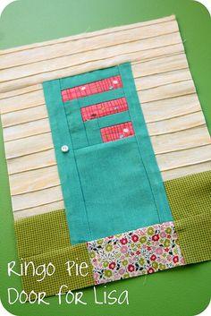 Such a cute quilt block.