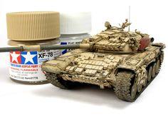 T-72AV / M1 | Alex Clark Military Armor, Lego Military, Military Diorama, Military Vehicles, Plastic Model Kits, Plastic Models, Weather Words, T 72, Tiger Tank