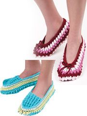 Easy Slippers to Crochet Pattern - Electronic Download