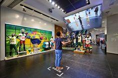 sportswear retail design branding - Google Search
