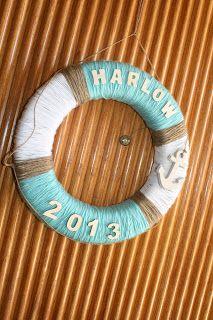 Handmade Nautical Decor ~ Thanks MOM!