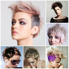 spiky hairstyles for women 2017