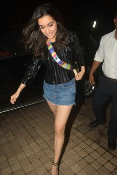 22496ada4f858 Looks like Shraddha Kapoor is all excited about promoting her movie ...