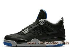 brand new 54a8c 0c8e5 Air Jordan 4 Retro Soar Blue Game Royal 308497-006 Chaussures Officiel  Jordan Pour
