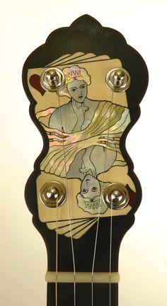 Latest Banjos for Buckeye Banjos. Custom open-back banjos by Greg Galbreath.