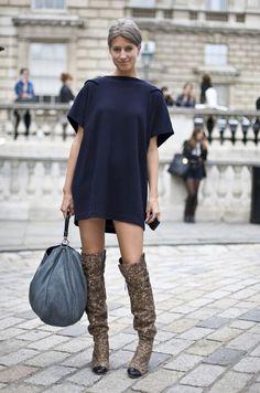 Sarah Harris + boots