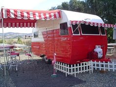 Cute little camper for Jack and Michelle and James to take to the Bulldog games!