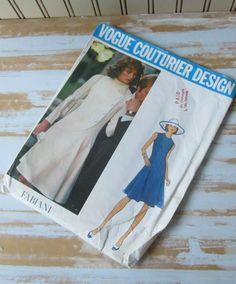 Vogue Couturier Fabiani Ladies Dress  Semi by VintageSouthernPicks