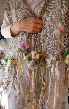 tricotés à la main faerie fantastique écharpe par beautifulplace