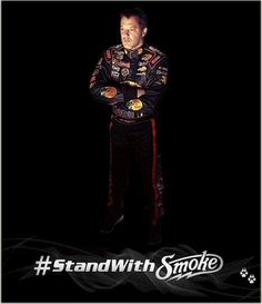It's time to #StandWithSmoke!! 2014 #Nascar by Springwolf