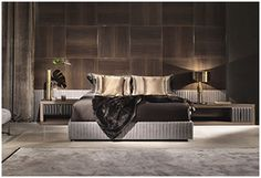 Get the best selection of design ideas to improve your home ambience with us. See more clicking on the image. Dream Bedroom, Home Bedroom, Modern Bedroom, Master Bedroom, Bedroom Decor, Bedroom Ideas, Design Furniture, Bedroom Furniture, Luxury Interior Design