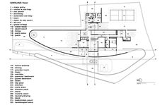 The Running Wall Residence,Plan