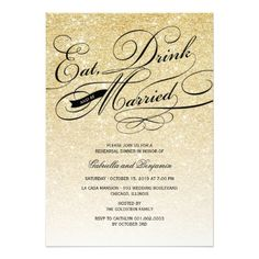 DealsEat Drink And Be Married Rehearsal Dinner Invitetoday price drop and special promotion. Get The best buy