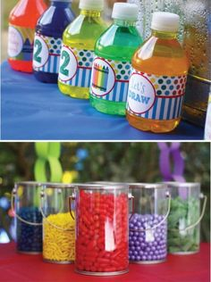 Art Party Drinks and Food - Personalised party drinks?? (Jolly Drinks)