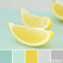 Lemon mint color palette I'm in love with color mint right now. This is going to be the palette for my new bedroom. Mint Color Palettes, Colour Pallette, Colour Schemes, Color Combos, Color Schemes With Gray, Modern Color Palette, Pastel Palette, Pantone, Design Seeds